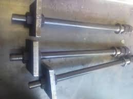 Болт фундаментный с анкерной плитой   М90 ГОСТ 24379.1-80